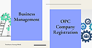How Business Management Consultant do OPC Company Registration