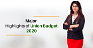 Highlights of Union Budget 2020 – Business Startup Consultant