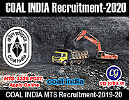 Coal India Limited Recruitment 2020 - Apply Online for 1326 Management Trainee post - Cg jobs l Latest Jobs in Chhatt...