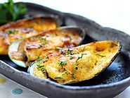 Cheese-Mayo Baked Mussels Recipe - Bradley's Fish