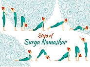 12 Steps Of Surya Namaskar (Sun Salutation)