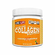 LonoLife Coconut Pineapple Collagen Peptides