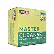LonoLife Master Cleanse (Lemonade Diet), Single Serve Cups, 15 Count | LonoLife