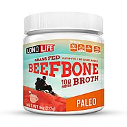 Grass-Fed Beef Bone Broth Powder - Bulk Container | LonoLife