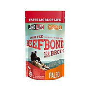 Grass-Fed Beef Bone Broth Powder - Stick Packs | LonoLife