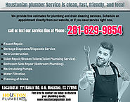 Commercial Plumbing Services Houston,Tx