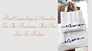 Best Canvas bags of Australia For The Businesses That Are Low In Budget - jenny247's blog
