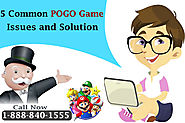 5 Common Pogo Game Issue and Solution | Pogo Phone Number 1(888)840-1555.