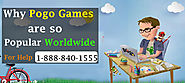 Why Pogo Online Games are so Popular Worldwide - 1-888-840-1555