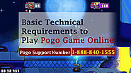 Basic Technical Requirements to Play Pogo Game Online -1-888-840-1555