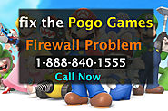 How to Fix Pogo Games Firewall Problem- Call Now 1-888-840-1555