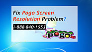 How to Fix Pogo Screen Resolution Problem/Issues- Pogo Support Help