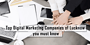 Top 12 Digital Marketing Companies in Lucknow | Best Agencies in India