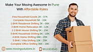 Packers and Movers Pune Charges, Rates, Prices or Estimated Shifting Cost – Moving Solutions