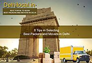 Movingsolutions.in Reveals 8 Tips in Selecting Best Packers and Movers in Delhi