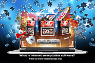 What is internet sweepstakes software?