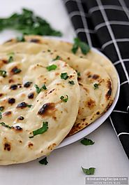 Butter Naan Recipe | How to Make Naan (Tawa Naan) - Indian Veg Recipe