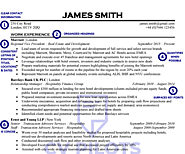 Vice President Real Estate CV Sample [10 Reasons It Works]