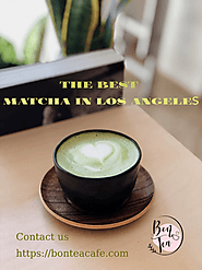 The best matcha in Los Angeles