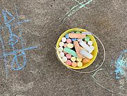 Sidewalk Chalk Obstacle Course - a Fun Summer Activity For Toddlers & Preschoolers - Toot's Mom is Tired