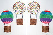 Paper Plate Hot Air Balloon Craft for Toddlers & Preschoolers - Toot's Mom is Tired