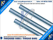 Threaded Rods & Thread Bars manufacturers exporters in India http://www.threadedrodsmanufacturers.com +91-9876270000