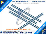 MS Threaded Rods & Bars manufacturers exporters in India http://www.threadedrodsmanufacturers.com +91-9876270000