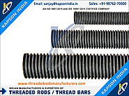 Low Carbon Threaded Rods manufacturers exporters in India http://www.threadedrodsmanufacturers.com +91-9876270000