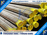 Hotdip Galvanized Threaded Bars manufacturers exporters in India http://www.threadedrodsmanufacturers.com +91-9876270000