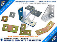 Channels Brackets / Bracketry manufacturers exporters in India http://www.threadedrodsmanufacturers.com +91-9876270000