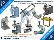Beam Clamps manufacturers exporters in India http://www.threadedrodsmanufacturers.com +91-9876270000