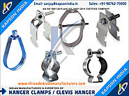 Hanger clamps manufacturers exporters in India http://www.threadedrodsmanufacturers.com +91-9876270000