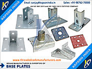 Base Plataes manufacturers exporters in India http://www.threadedrodsmanufacturers.com +91-9876270000