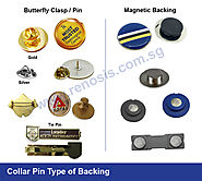 Get Express Printing Collar Pins at Best Price