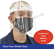 Clear Face Shield Visor Supplier in Singapore