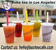 Boba tea in Los Angeles