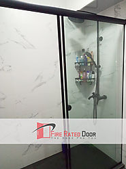Glass door Singapore