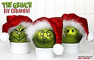 DIY Grinch Ornament Tutorial