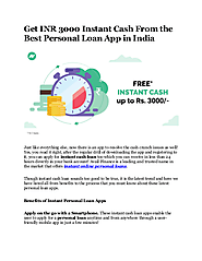 Best Instant Personal Loan App in India in 2020 - edocr