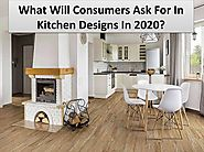 Kitchen trends that are here to visit- Stylist ideas in 2020