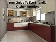 How can I make my kitchen eco-friendly?