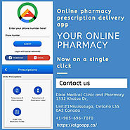 Get your pharmacy online and order your medication with Algo app