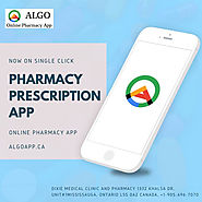 Get you pharmacy prescription app now on single click
