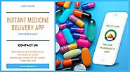Get your instant medicine delivery app on one click