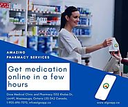 Amazing pharmacy services get medication to deliver in a few hours.