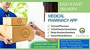 Get easy and fast delivery medical pharmacy app