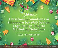 Subraa offers best of Christmas deals and discounts on Startup Packages for Logo and Website Design