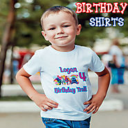 Customized birthday T-Shirts