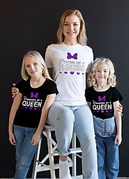 Custom Mother-Daughter t-shirts