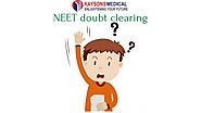 NEET doubt clearing